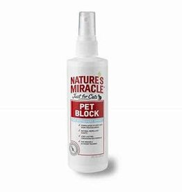 Nature's Miracle Nature's Miracle Cat Pet Block Repellent Spray 8 oz