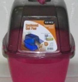 VAN NESS PLASTIC MOLDING CO Van Ness Enclosed Cat Pan Translucent Large