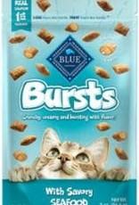 Blue Buffalo Blue Buffalo  BURSTS SEAFOOD 2oz/6 FILLED CAT TREAT