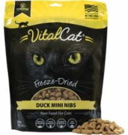 Vital Essentials VITAL ESSENTIALS CAT FREEZE-DRIED MINI NIBS DUCK 12OZ