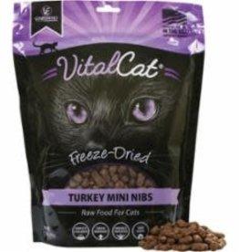 Vital Essentials VITAL ESSENTIALS CAT FREEZE-DRIED MINI NIBS TURKEY 12OZ