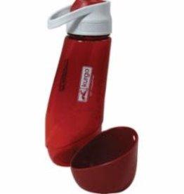 Kurgo Kurgo Gourd H2O Bottle & Bowl Barn Red
