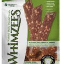 Whimzees Whimzees 7 in med Veggie Strip  Dental Treat 14 Pieces Bag EA