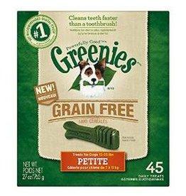 Greenies Greenies Grain Free Treat-Pak 27oz Petite