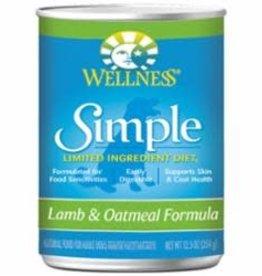 Wellness Wellness Simple Lamb & Oatmeal Formula Canned Dog Food 12 / 12.5 oz
