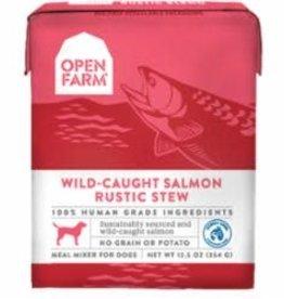 Open Farm Open Farm Dog Wet Rustic Stew Grain Free Wild Caught Salmon 12.5 oz