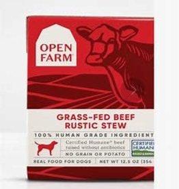 Open Farm Open Farm Dog Wet Rustic Stew Grain Free Beef 12.5 oz