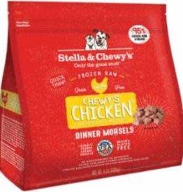 Stella & Chewy's Stella & Chewy's Dog Frozen Chicken Morsels 4#