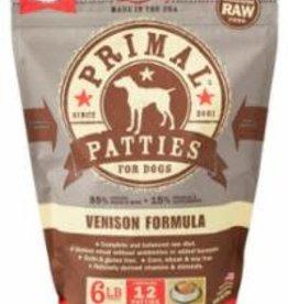 Primal Primal Pet Food Canine Venison Formula - patties