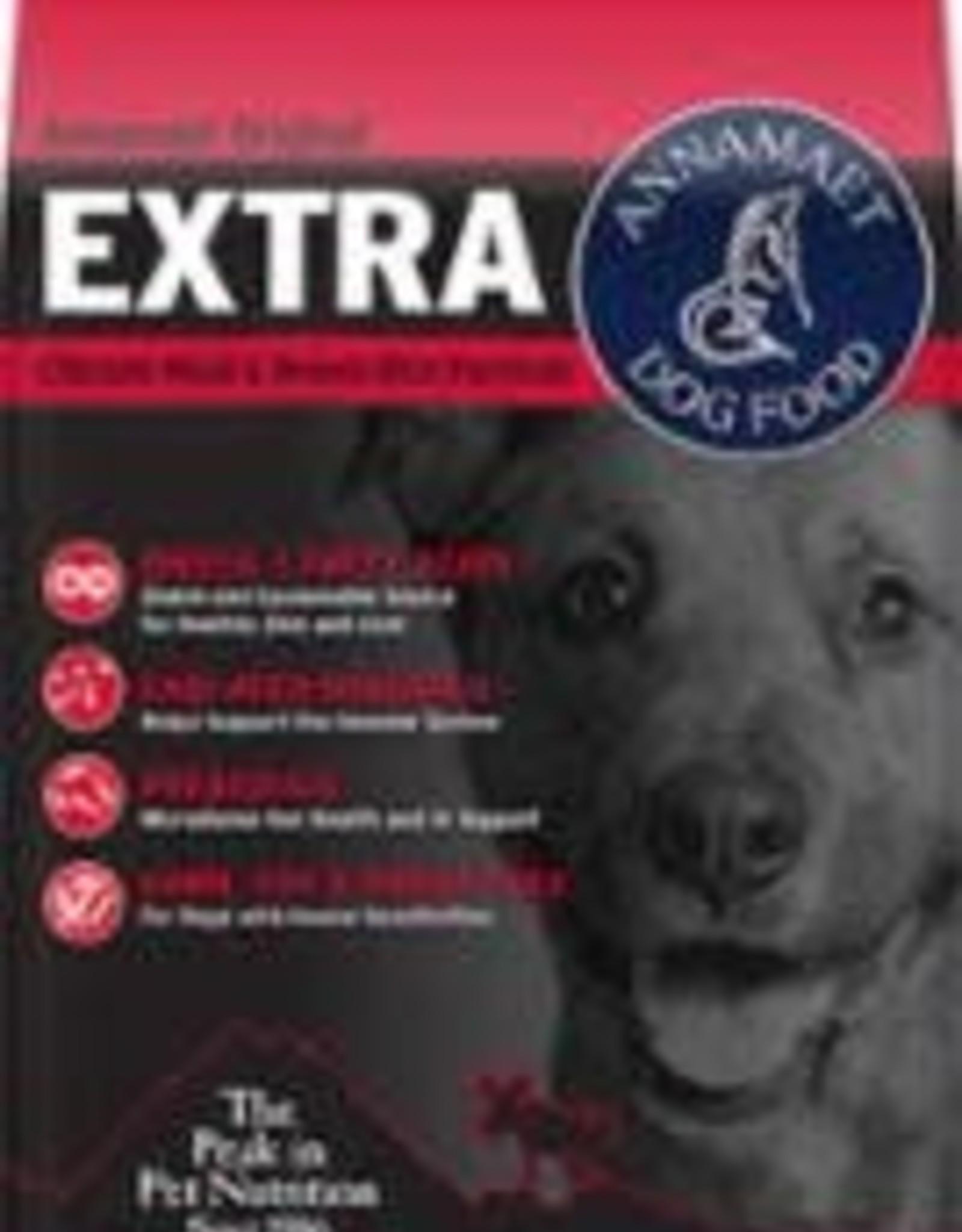 ANNAMAET DOG EXTRA 26% 25LB    CHICKEN FISH