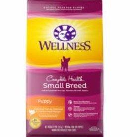 Wellness Wellness 4 Lb Dog sm Breed  Complete Health Puppy EA