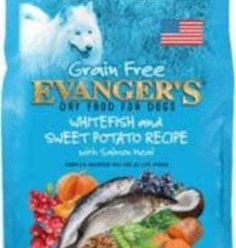 Evanger's Evanger's Dog Dry Premium Whitefish & Sweet Potato 33#