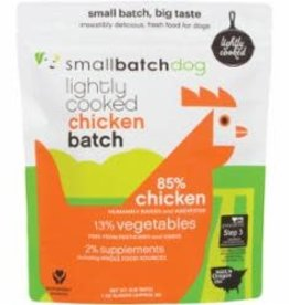 Small Batch SMALL BATCH FRZN DOG LIGHTLY COOKED CHICKEN 2#
