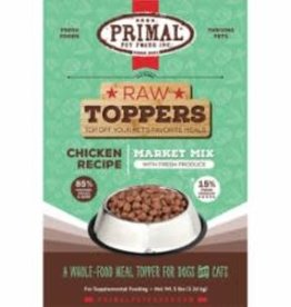 Primal Primal Raw Toppers Chicken Recipe