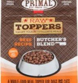 Primal PRIMAL DOG CAT FROZEN BUTCHER'S BLEND TOPPER BEEF 2LB