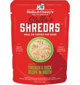 Stella & Chewys STELLA AND CHEWY CHICKEN AND DUCK SHRDRS 2.8OZ
