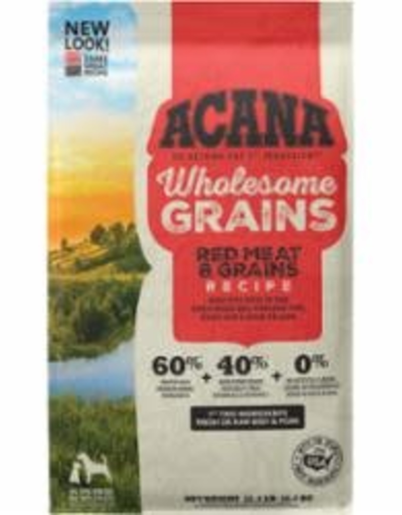 Acana ACANA DOG WHOLESOME GRAINS RED MEAT 22.5LB
