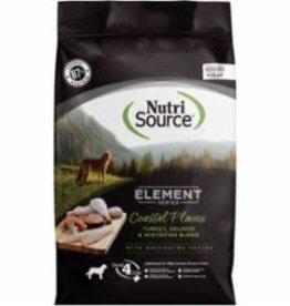 Nutri Source NUTRISOURCE DOG ELEMENT SERIES COASTAL PLAINS 12LB