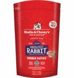 STELLA & CHEWY'S LLC / FROZEN Stella and Chewy's 3# Frozen Absolutely Rabbit Dinner