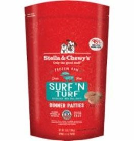 STELLA & CHEWY'S LLC / FROZEN Stella and Chewy's Frozen Surf and Turf Dinner Dog, 3 Lb