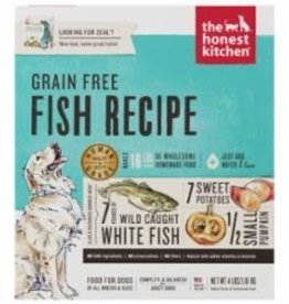 Honest Kitchen Honest Kitchen Dehydrated Grain Free Whitefish Dog Food 4 lb