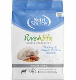 Nutri Source NutriSource Pure Vita Grain Free Turkey & Sweet Potato 25 lb