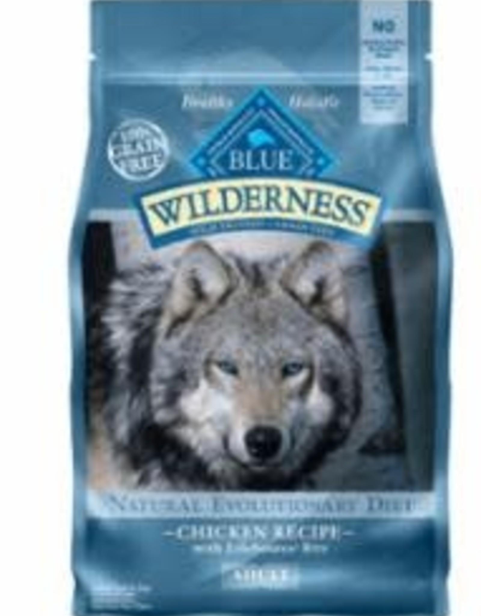 Blue Buffalo BLUE DOG WILDERNES CHICKEN 11LB