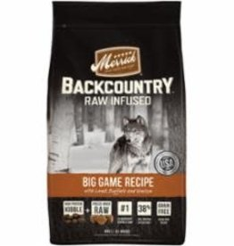 MERRICK PET CARE, INC. MERRICK DOG BACKCOUNTRY GRAIN FREE BIG GAME 4LB