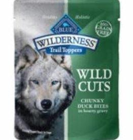 Blue Buffalo Blue Buffalo Wilderness Wild Cuts Trail Toppers Chunky Duck Bites 24 / 3 oz