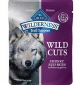 Blue Buffalo Blue Buffalo Wilderness Wild Cuts Trail Toppers Chunky Beef Bites 24 / 3 oz