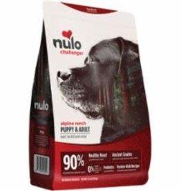 Nulo NULO CHALLENGER DOG ALPINE RANCH BEEF & LAMB 11LB