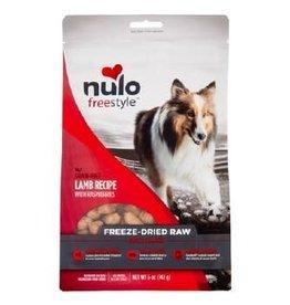NULO INC NULO FREESTYLE DOG FREEZE-DRIED RAW GRAIN FREE LAMB 5OZ