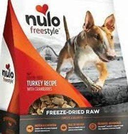 NULO INC NULO FREESTYLE DOG FREEZE-DRIED RAW GRAIN FREE TURKEY 5OZ