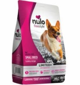 Nulo NULO FREESTYLE DOG LIMITED INGREDIENT SMALL BREED GRAIN FREE TURKEY 4LB