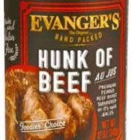 Evanger's Evanger's Dog Can Hand Packed Grain Free Hunk of Beef 12oz