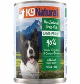 K9 Natural K9 NATURAL DOG GRAIN FREE LAMB 13OZ