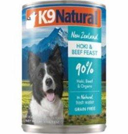 K9 Natural K9 NATURAL DOG GRAIN FREE HOKI & BEEF 13OZ