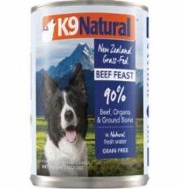 K9 Natural K9 NATURAL DOG GRAIN FREE BEEF 13OZ