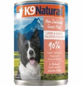 K9 Natural K9 NATURAL DOG GRAIN FREE LAMB & SALMON 13OZ