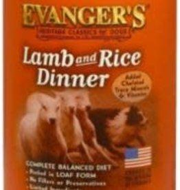 Evanger's Evanger's Lamb & Rice Dinner Dog Food 13 oz