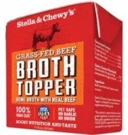 Stella & Chewy's STELLA & CHEWY'S DOG BROTH TOPPER GRASSFED BEEF 11OZ