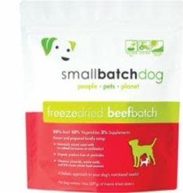 Small Batch SMALLBATCH DOG FREEZE-DRIED BEEF SLIDERS 14OZ