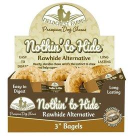 Fieldcrest Farms Fieldcrest Farms Nothin' to Hide Bagels Peanut Butter