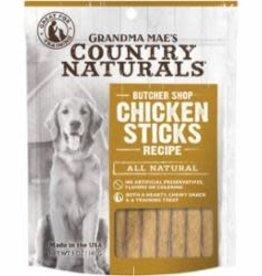 GRANDMA MAES COUNTRY NATURALS GRANDMA MAE'S COUNTRY NATURALS DOG STICK CHICKEN 5OZ