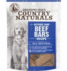 GRANDMA MAES COUNTRY NATURALS GRANDMA MAE'S COUNTRY NATURALS DOG BEEF BAR 5OZ