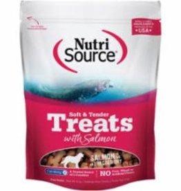 Tuffy's Tuffy's NutriSource Dog Treat Soft & Tender Salmon 6 oz 12/Case