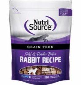 Nutri Source NutriSource Grain Free Rabbit Bites Treats 12 / 6 oz