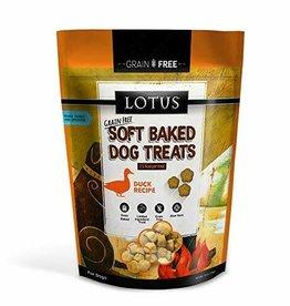 Lotus LOTUS DOG SOFT BAKED GRAIN FREE DUCK 10OZ