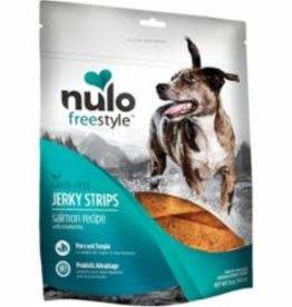 Nulo NULO FREESTYLE DOG JERKY STRIPS GRAIN FREE SALMON 5OZ