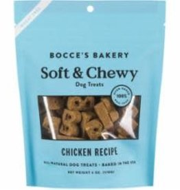 Bocce's Bakery Bocce's Bakery Basic Soft Chewy Chicken 6 oz Bag